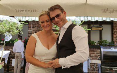 Unsere Kerstin hat geheiratet